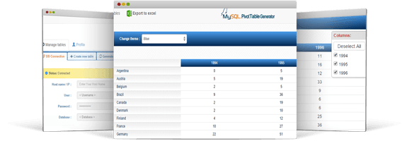 PHP Report Builder For MySQL | Mysqlreports com